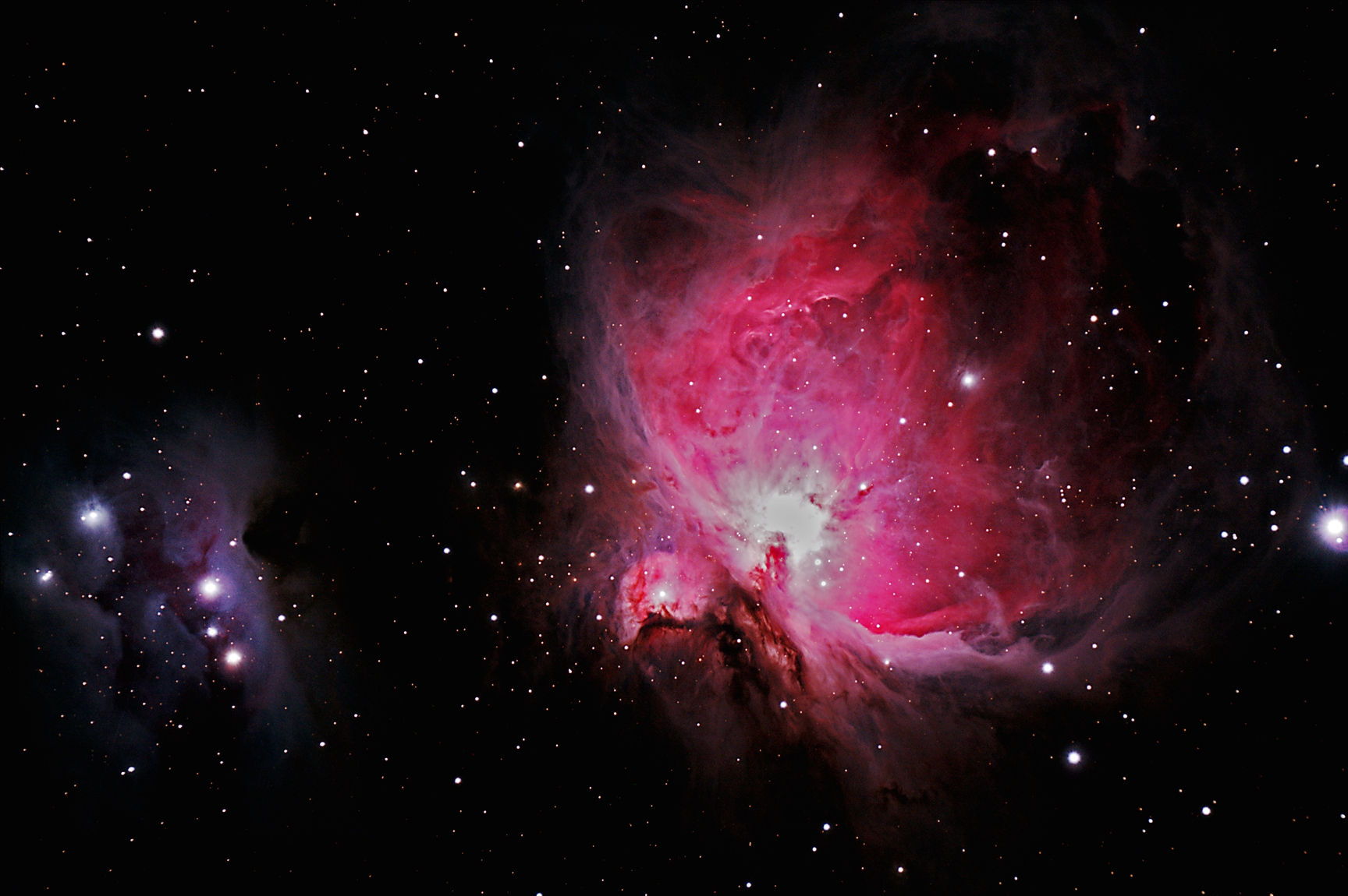 M42 The Great Nebula and the Running Man